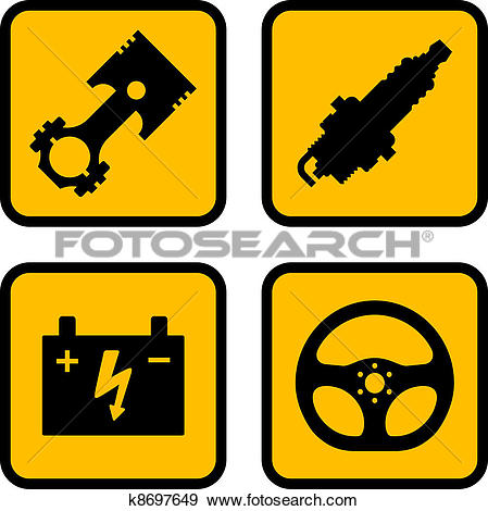 Car part Clip Art Vector Graphics. 4,963 car part EPS clipart.
