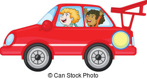 Female car driver Clipart Vector Graphics. 771 Female car driver.