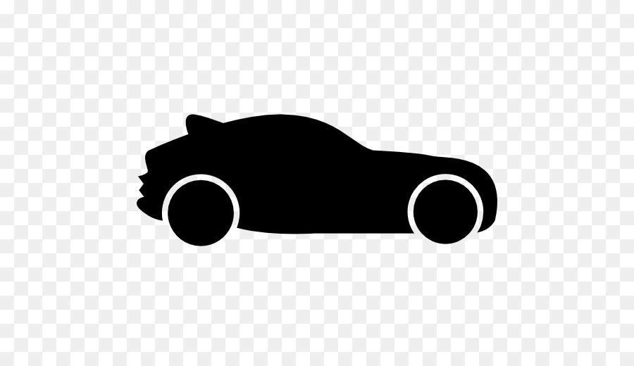 Sports car Silhouette racing car.