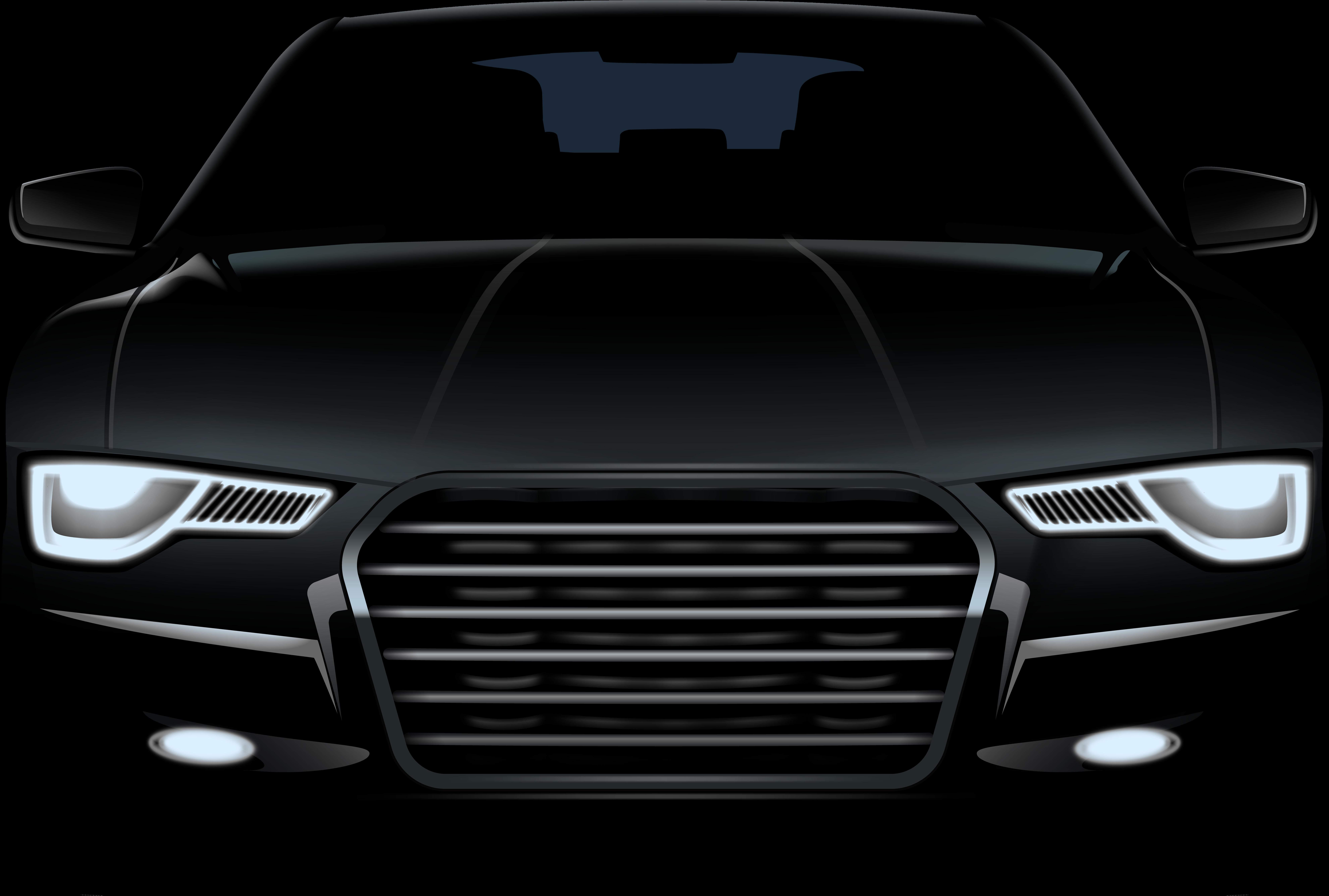HD Car Front Png.