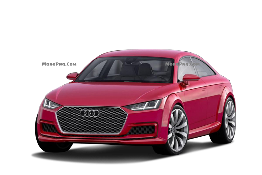 Audi Car PNG Front View.