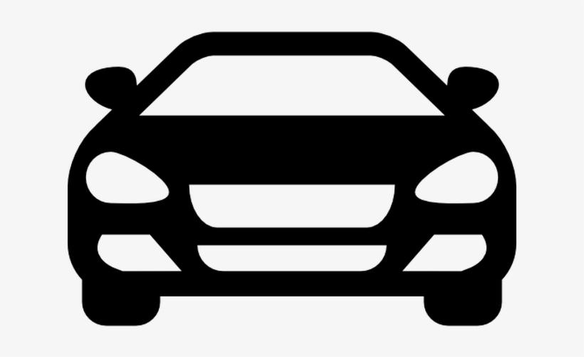 Sedan Car Front.
