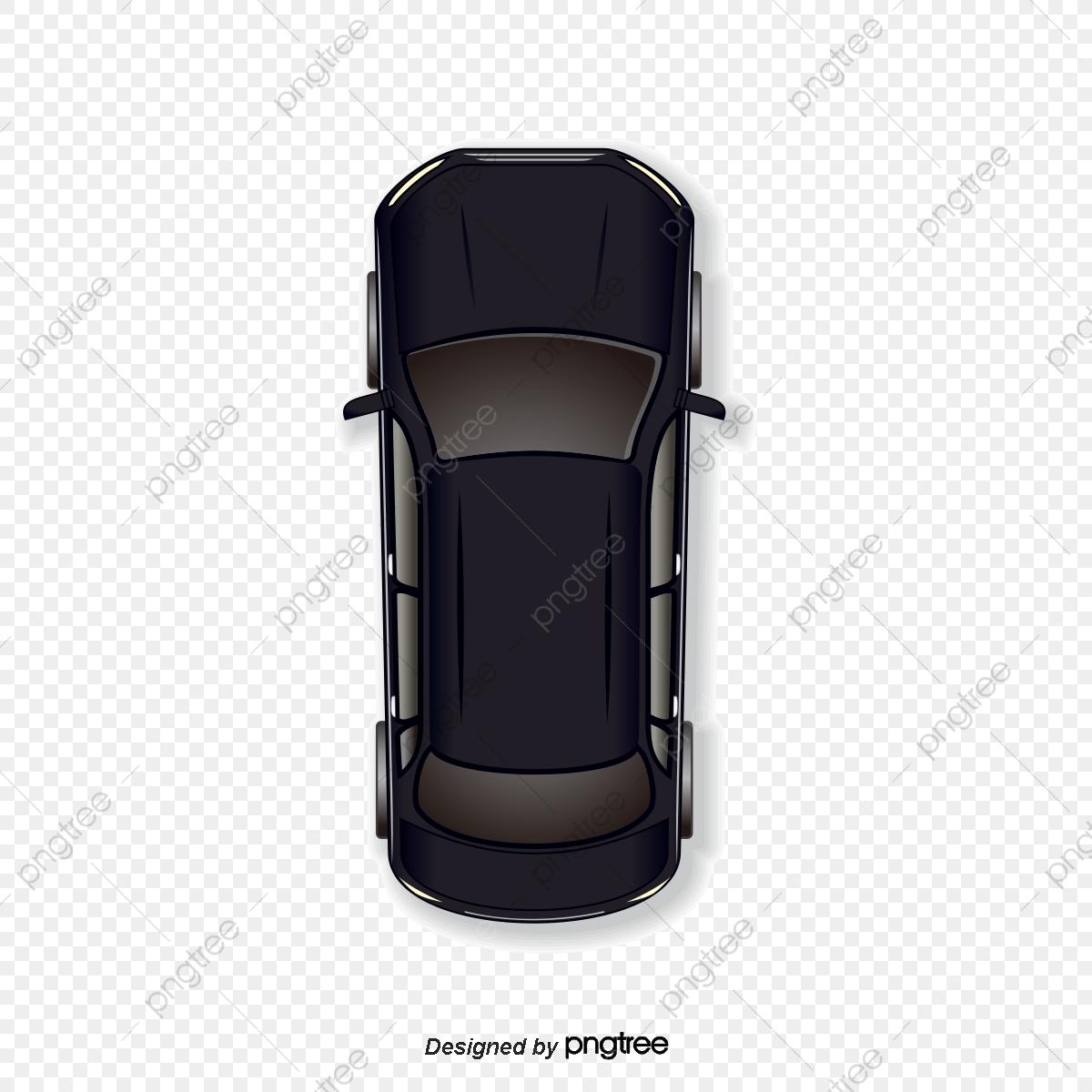 Vector Cartoon Black Car, Vector, Cartoon, Cartoon Vector PNG and.