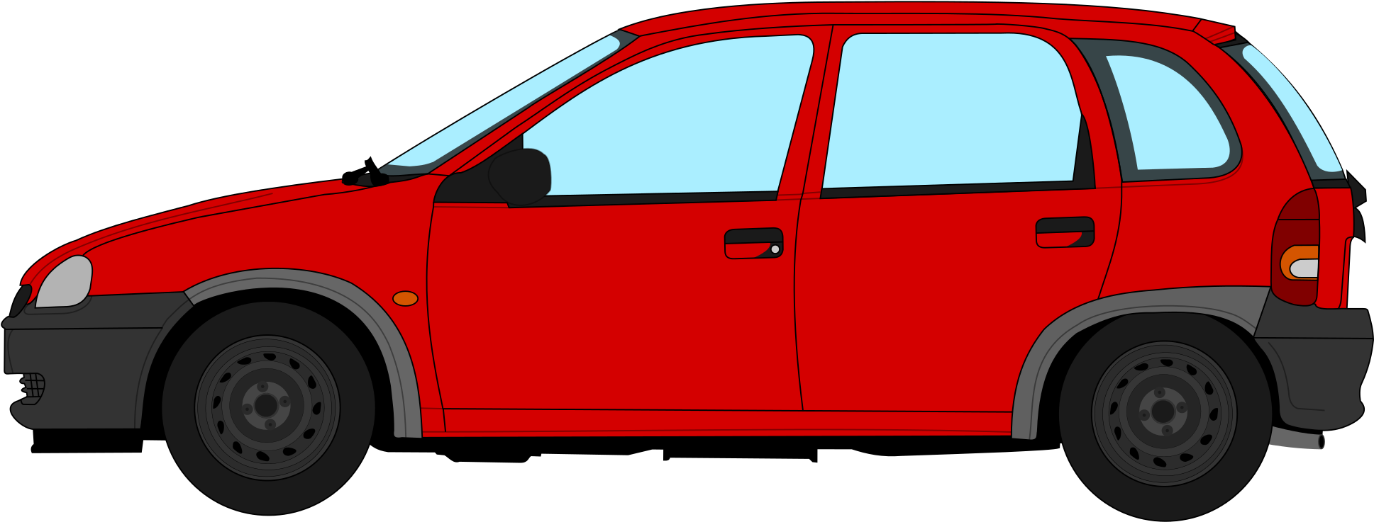 HD Opel Corsa B Profile.