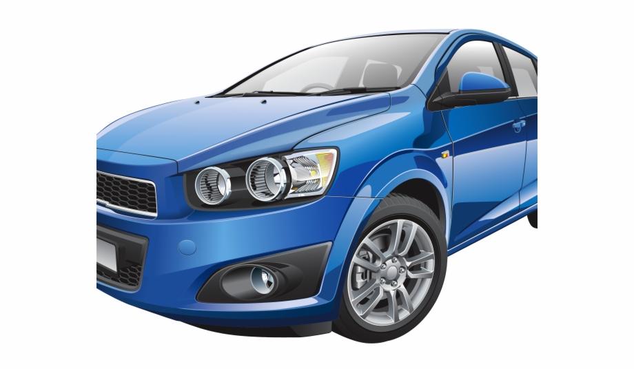 Blue Car Clipart Profile.