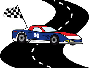 Racing Clipart Image.
