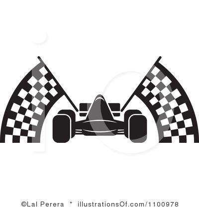 Race Car Border Clipart.
