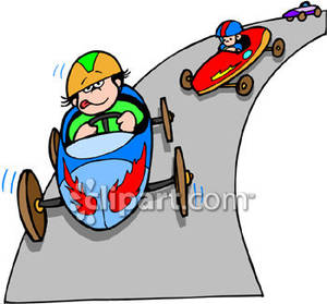 Car race clipart.
