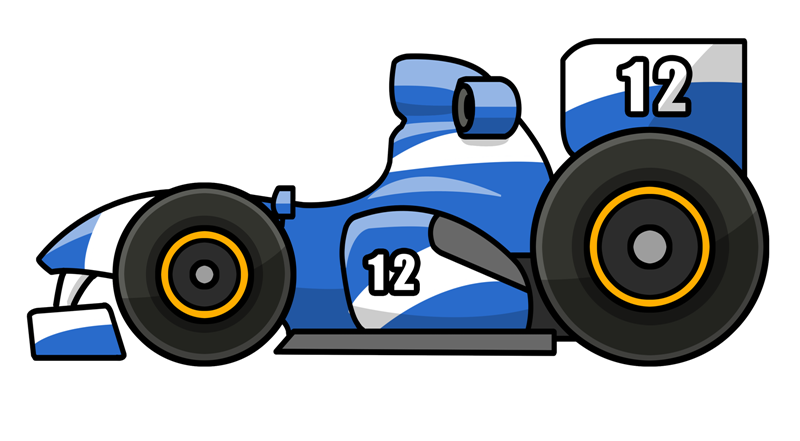 Free to Use & Public Domain Race Car Clip Art.