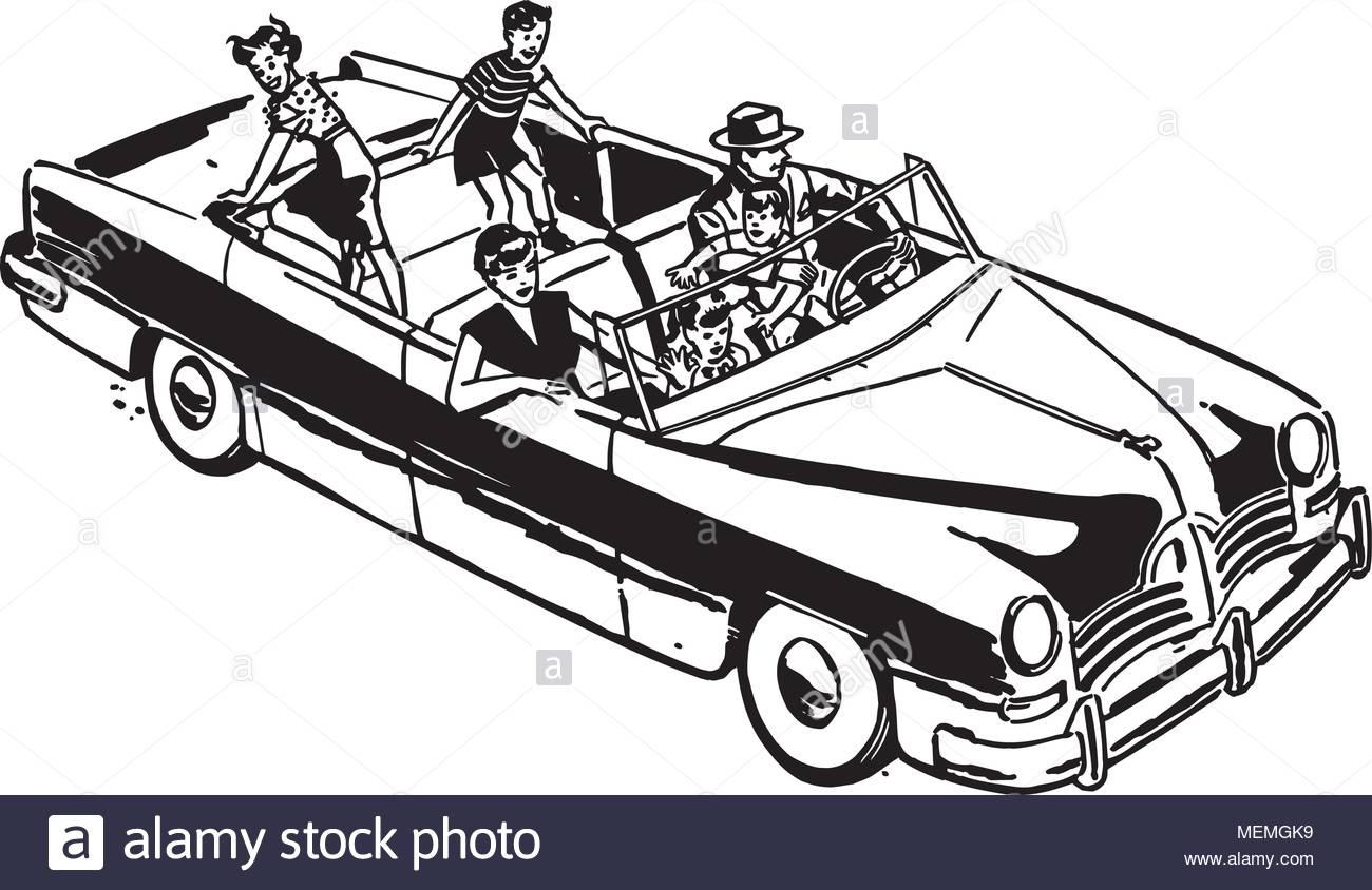 Family Car Ride.