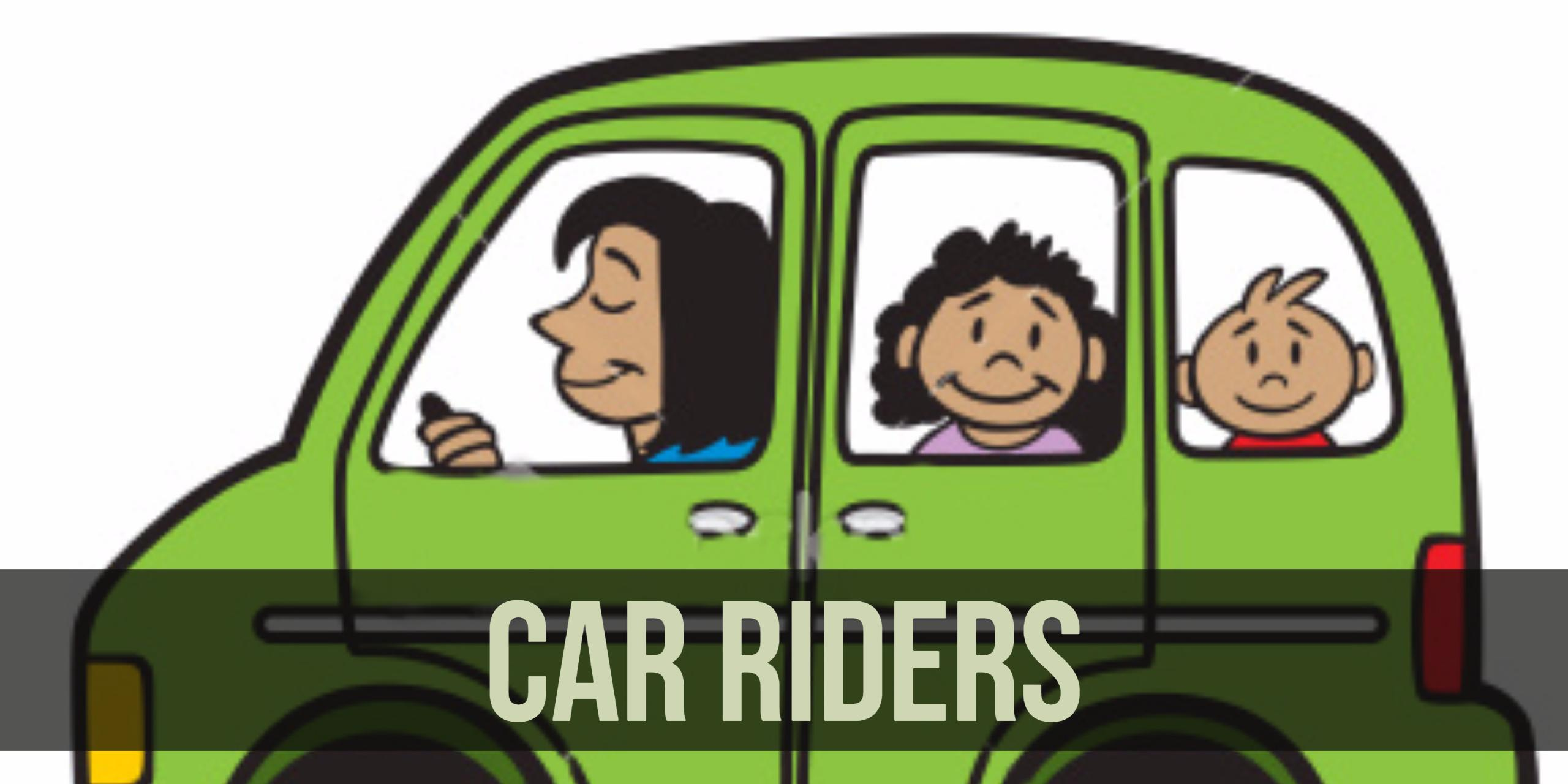 Car rider clipart 2 » Clipart Station.