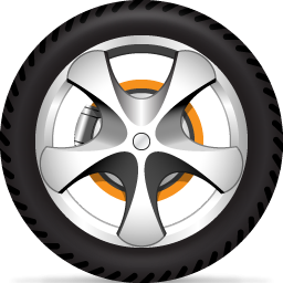 Wheels clip art.