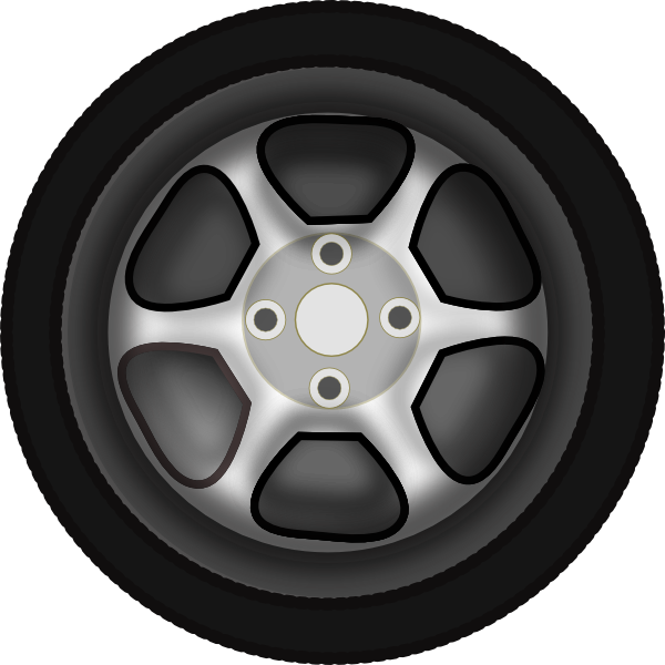 Wheels And Tires Clipart.
