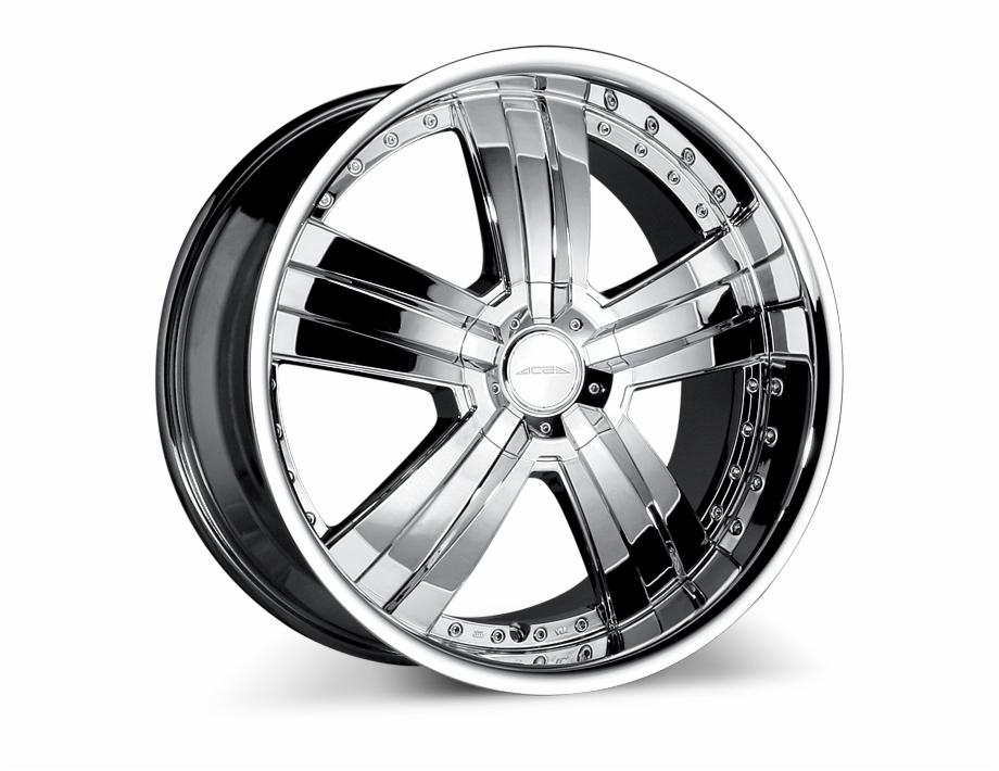 Deluxe C899 Chrome Wheels & Rims.