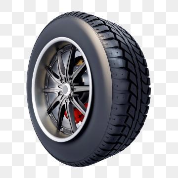 Car Tire PNG Images.