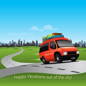 Car on the road clipart » Clipart Portal.