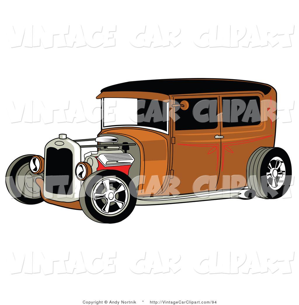 Brown Car Clipart.