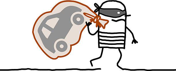Stolen Car Clip Art, Vector Images & Illustrations.