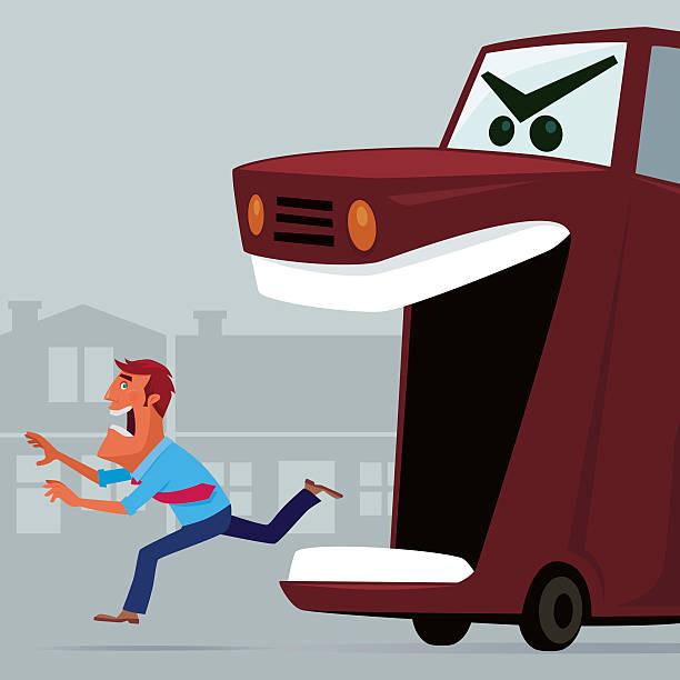 Man Running Away Clip Art, Vector Images & Illustrations.