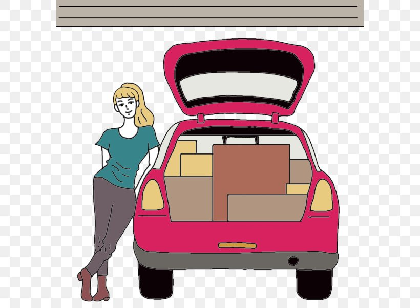 Car Boot Sale Trunk Clip Art, PNG, 600x600px, Car.