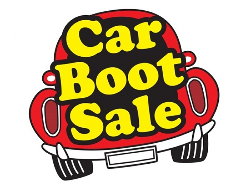 Car Boot Sale Clipart.
