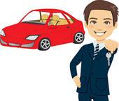 Car Salesman Clip Art.
