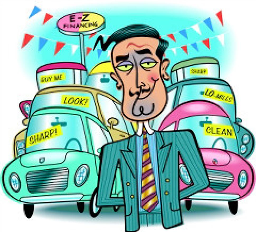 Showing post & media for Used car salesperson cartoon.
