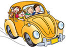 School Car Clipart.