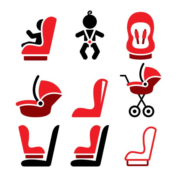 Best Car Seat Illustrations, Royalty.