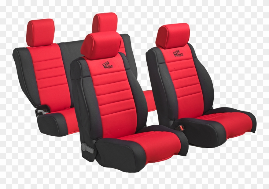 Heated Car Seat Covers Transparent Background.