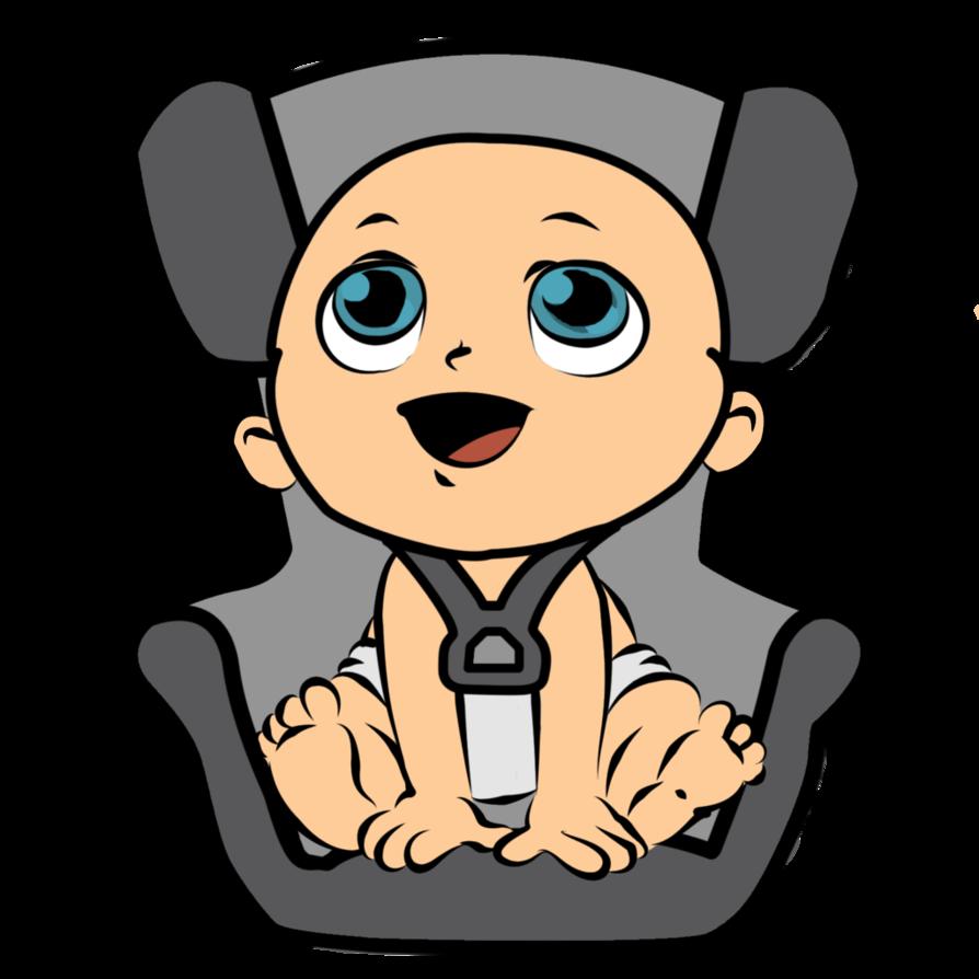 Car seats clipart.