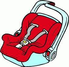 Baby Car Seat Clipart.