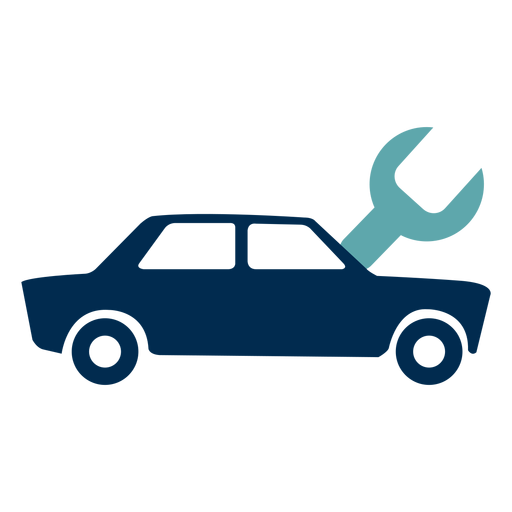 Car mechanic service logo.