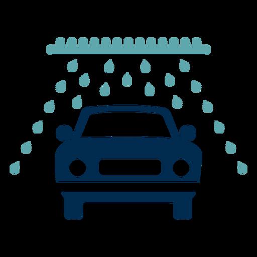Car wash service logo.