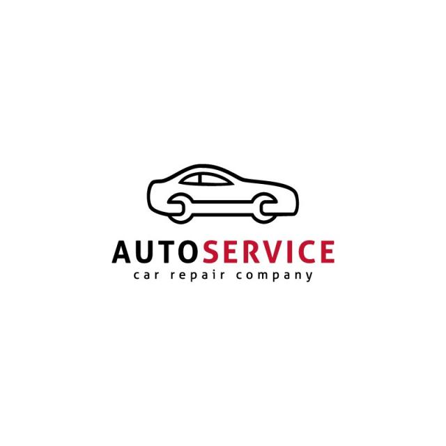 Auto Service Logo Template for Free Download on Pngtree.