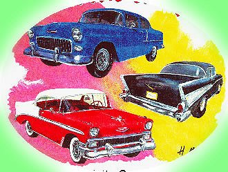 Antique car show clipart.