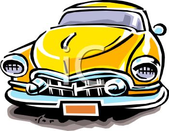 Custom Car Show Clipart.