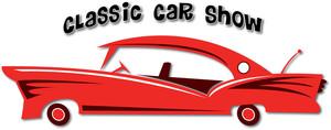 Car Show Clipart Image.