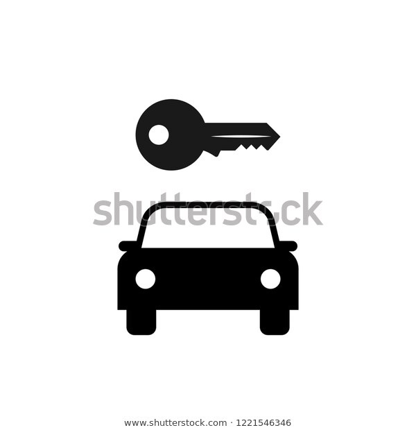 Car Rental Sign Clipart Image Isolated Stock Vector (Royalty Free.