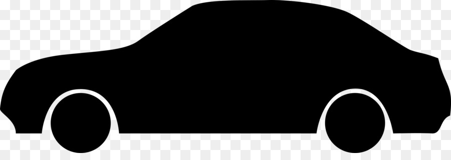 Car Silhouette png download.