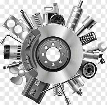 Spare Parts cutout PNG & clipart images.