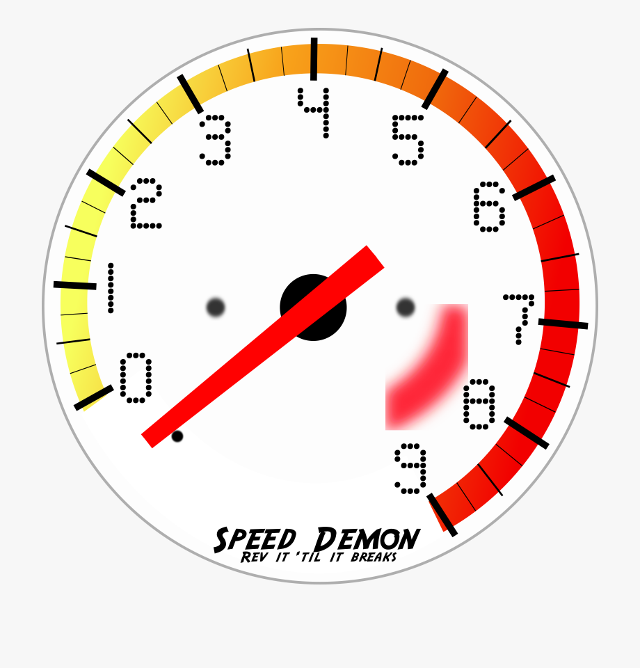 Tachometer Clip Art Curve Speed.