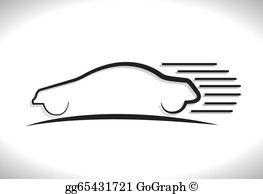 Speeding Clip Art.