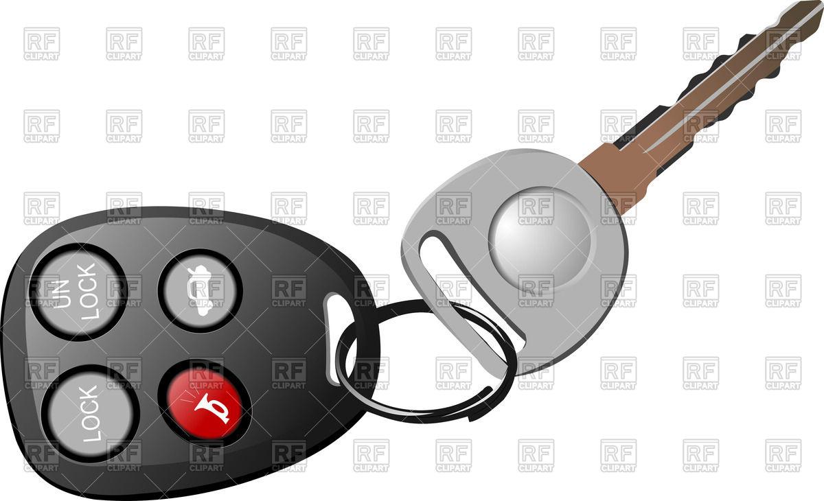 Remote Car Starter Clip Art.