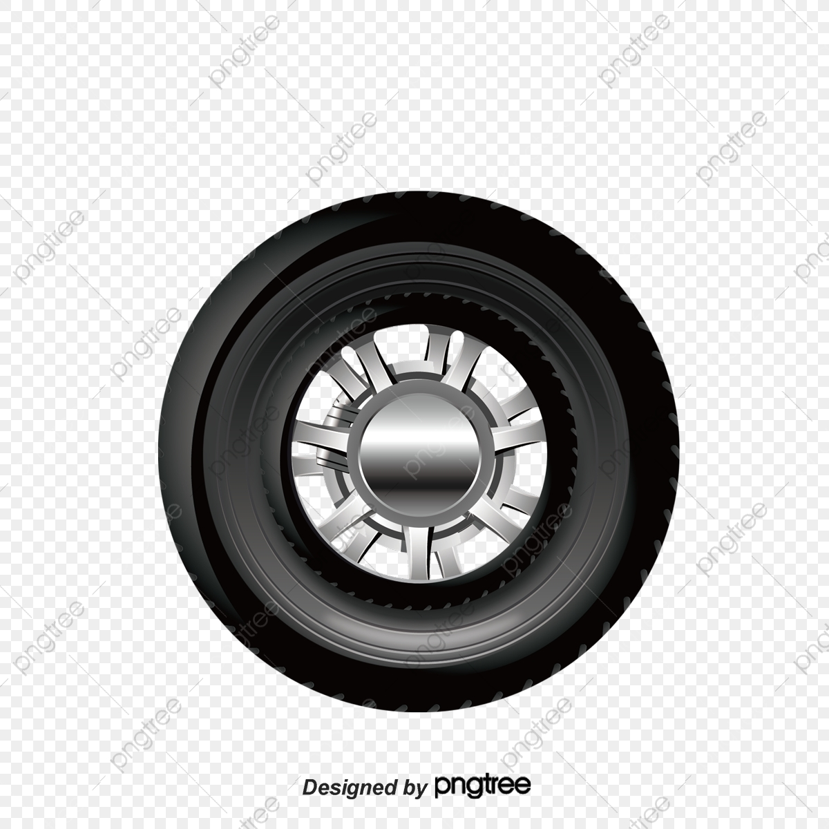 Black Car Tire Texture, Black, Car, Tire PNG and Vector with.