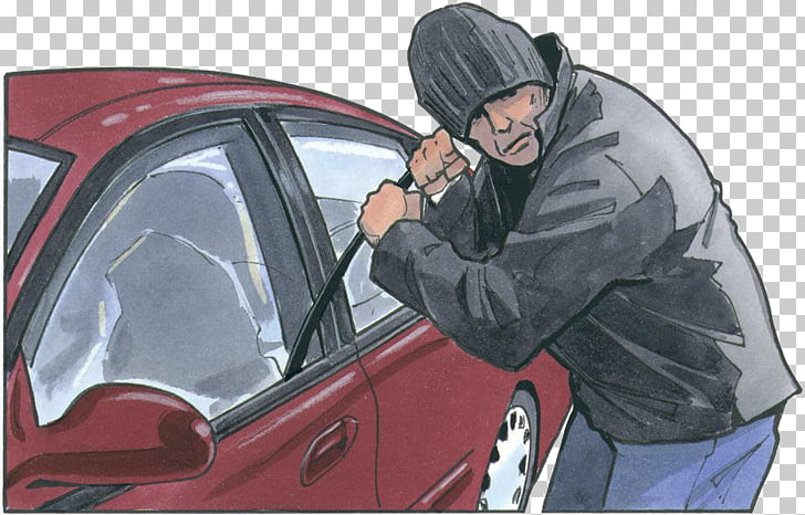 Car Motor vehicle theft Crime, car PNG clipart.