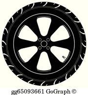 Car Tire Clip Art.