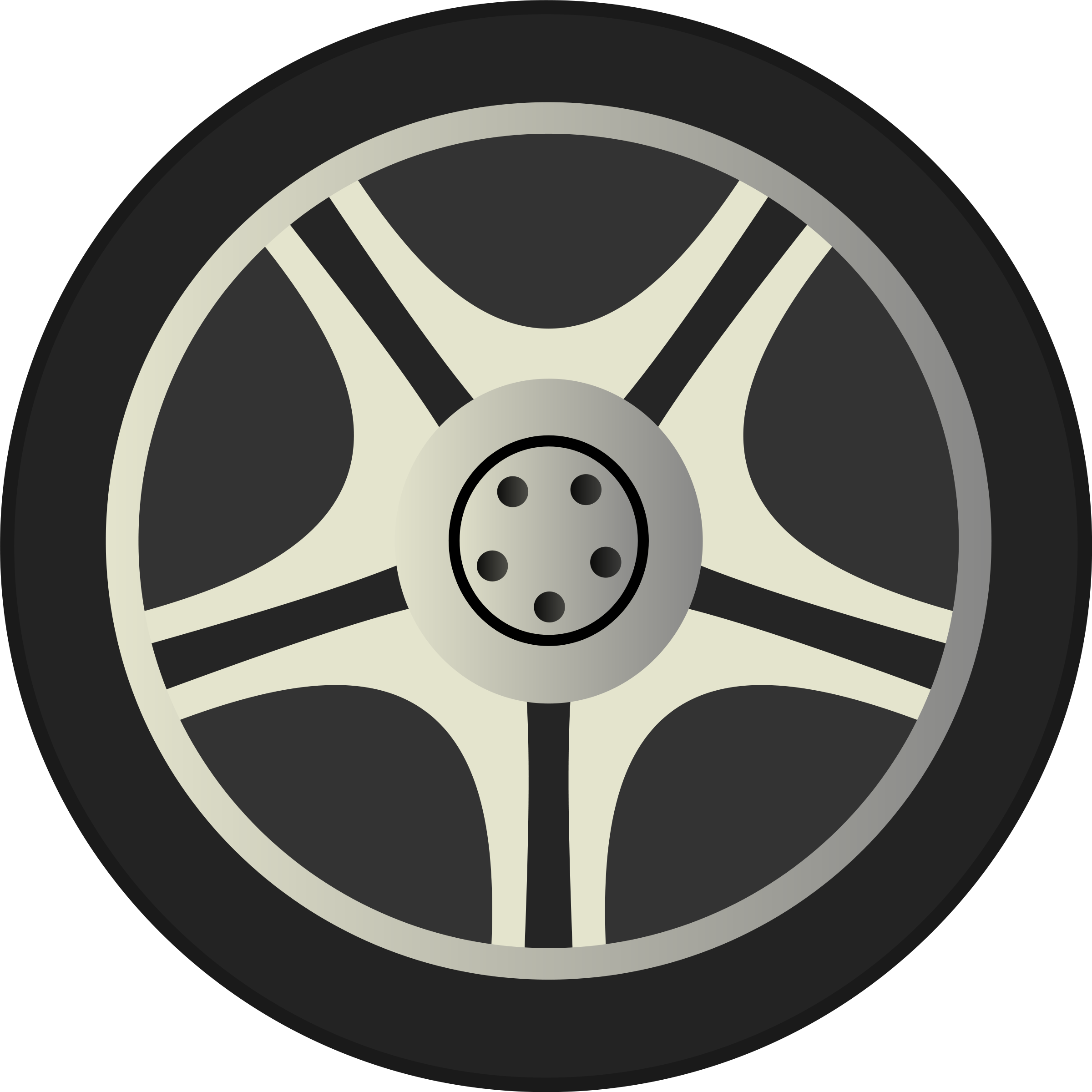 Two car tires clipart.