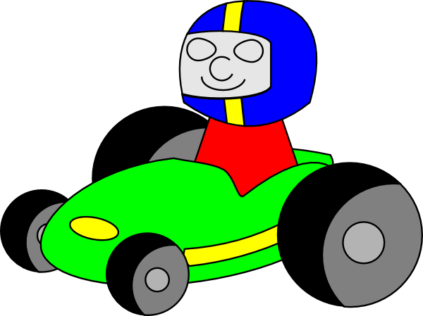 Car Racer Png Clipart.