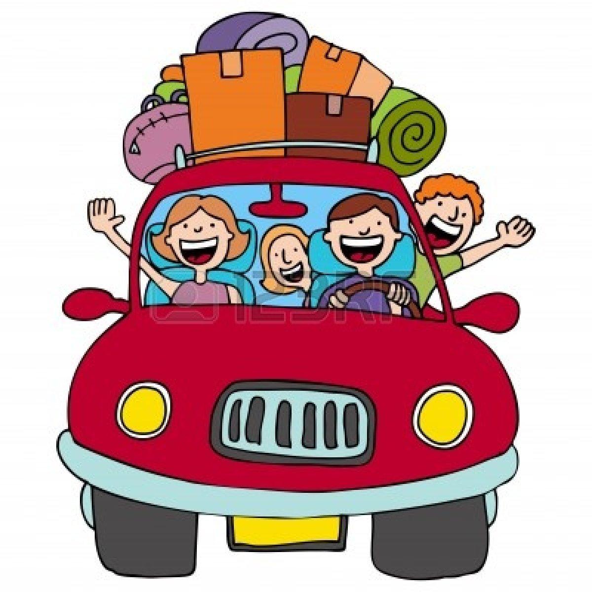 Family Car Trip.